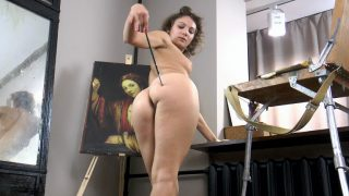 Simona finishes painting and.. Wearehairy.com – moviesxxx.cc